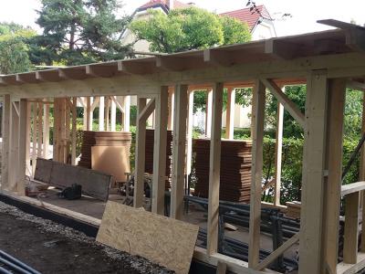Pfeifer kerti ház gyártása